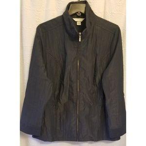 CJ Banks Blue Lightweight Jacket SZ 1X